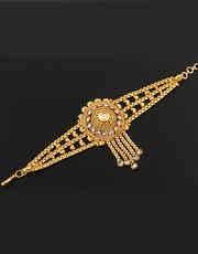 Gold Plated Beautiful bajubandh For Women