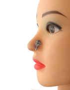 Designer Oxidised Nose Pin