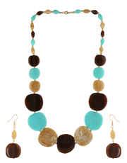 Beaded Necklace Cristal Long Mala