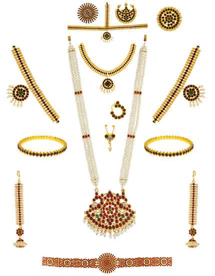 South Indian Bridal Set