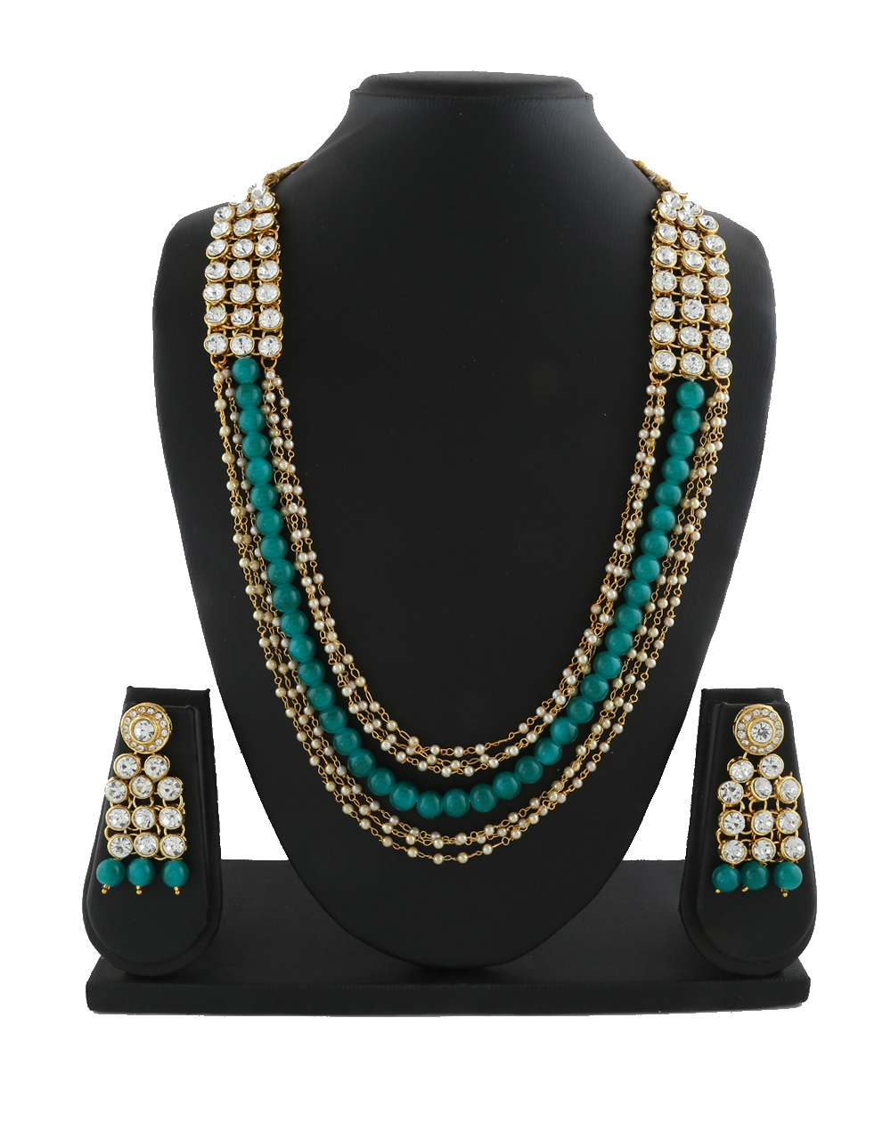 Ethnic Party Wear Beads Jewellery Design