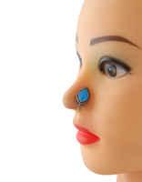 Oxidized Finish Very Classy Designer Stylish Nose Pin