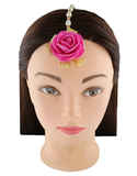 Flower Jewellery Set Styled With Pearl Beautiful Flower Jewellery