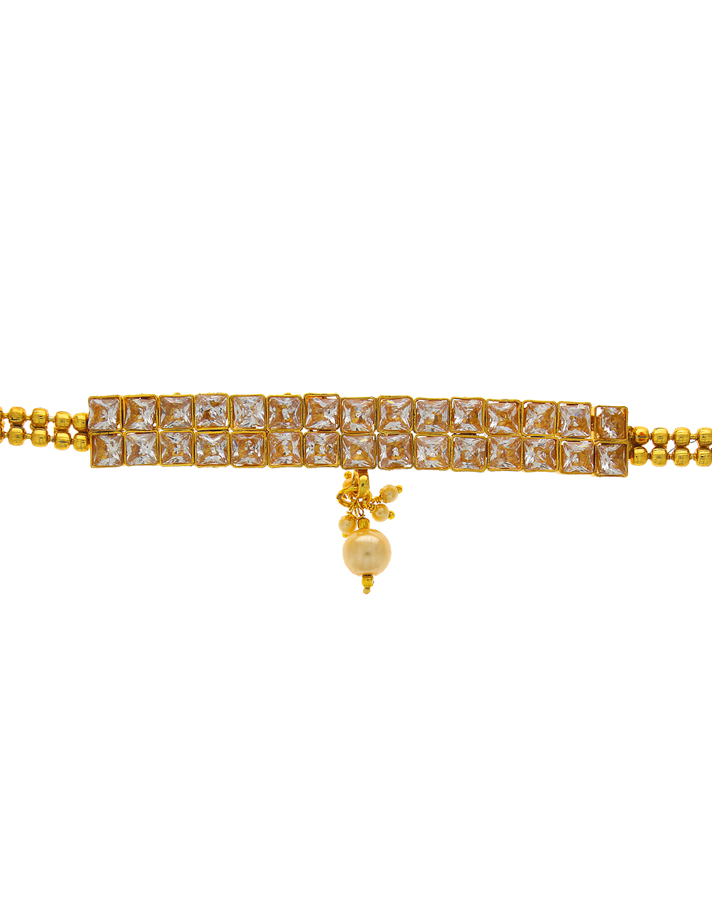 Traditional Bajuband Studded With Stones Armlet Design For Women