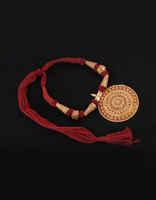 Round Shape Fashionable Geru Polish Jewelry Set For Women