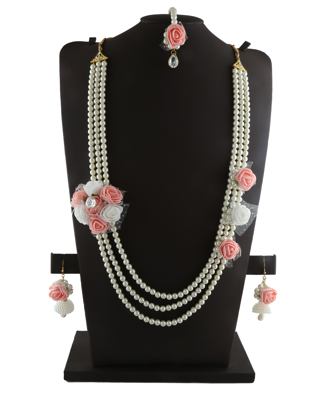 Buy Pink Colour Very Classy Designer Baby Shower Jewellery Styled