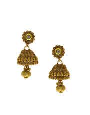 Fancy Necklace Zumki Designer Kundan Necklace With Earrings