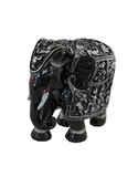 Black Colour Ganesha Hatti/Elephant For Ganesha Decoration
