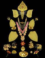 Ganesha Kaan For Ganpati Sajavat