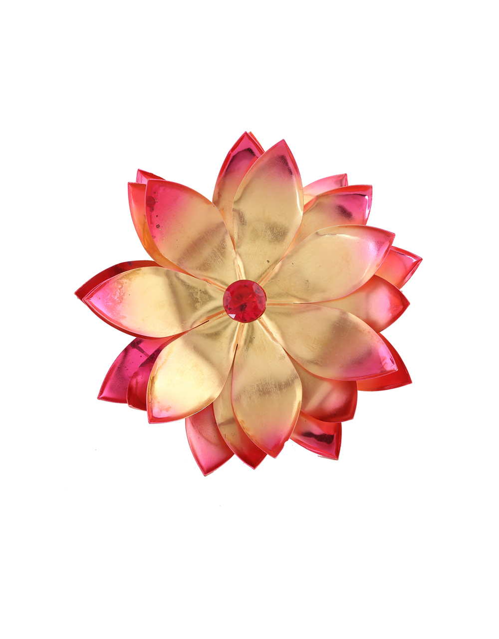 Buy Pink Colour Beautiful Lotus Flower For Ganpati Decoration Online