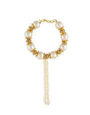 Designer Pearls Styled Ganpati Kada For Ganesh Occasion