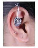 Designer Silver Cuff Earrings for Women