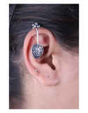 Stylish Silver Cuff Earrings in Beautiful Look for Women