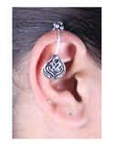Oxidised Finish Designer Ear Cuffs for Girls