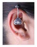 Oxidised Cuff Earrings for Women