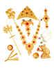 Ganpati Jewellery Combo Set