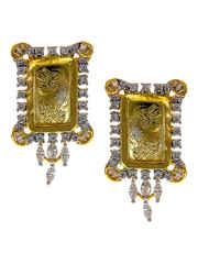 Gold Finish Very Classy Designer Diamond Set
