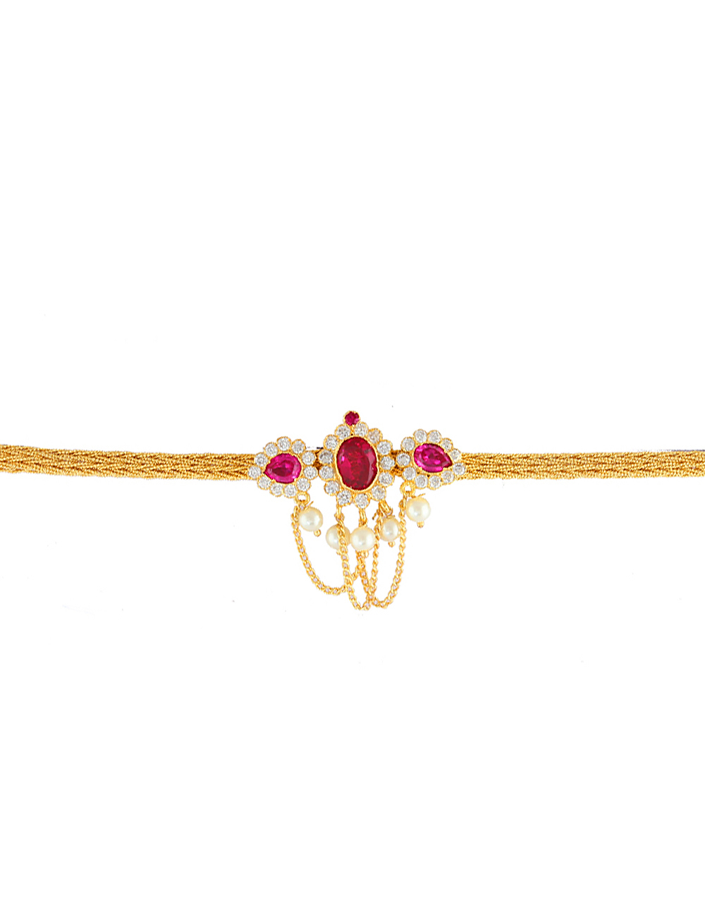 Beautiful Bajuband Studded with Sparkling Stones for Women