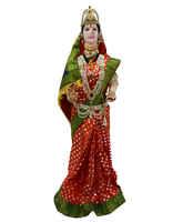 Maroon Colour Fancy Gauri Mahalakshmi Combo Set
