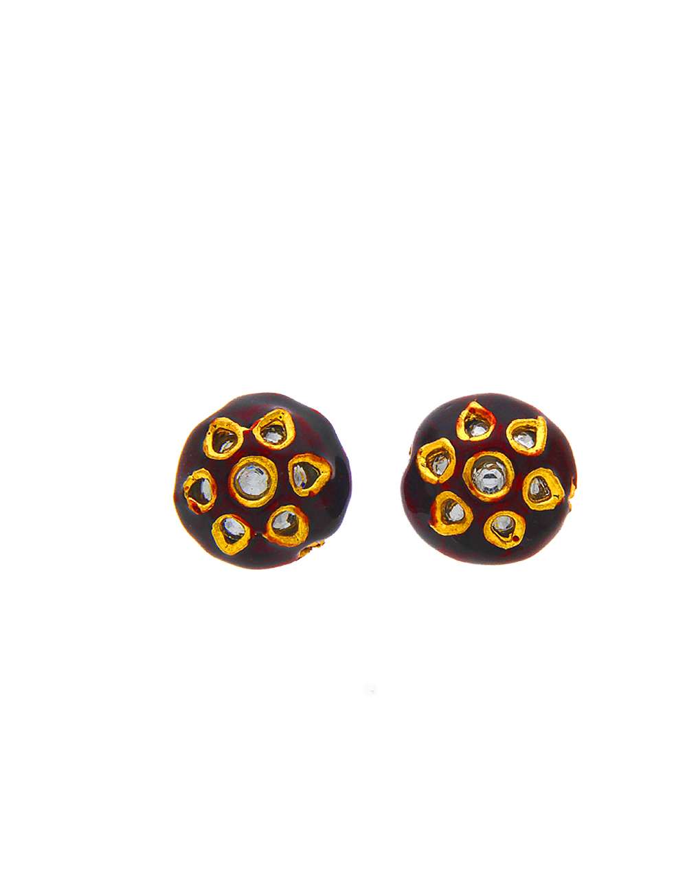Maroon Colour Jewellery Material
