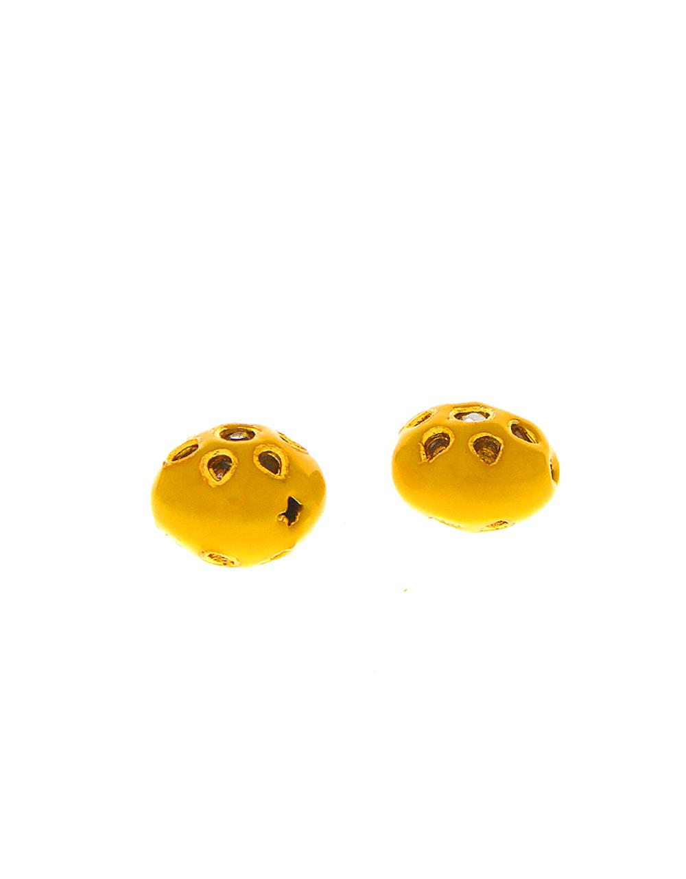 Yellow Colour Designer Jewellery Material