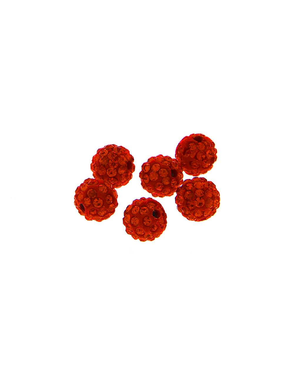 Red Colour Beads Material Jewellery