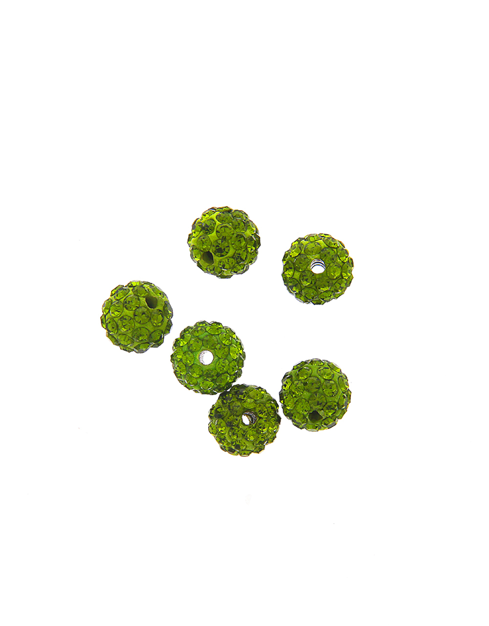 Green Colour Fashionable Beads Ball Material