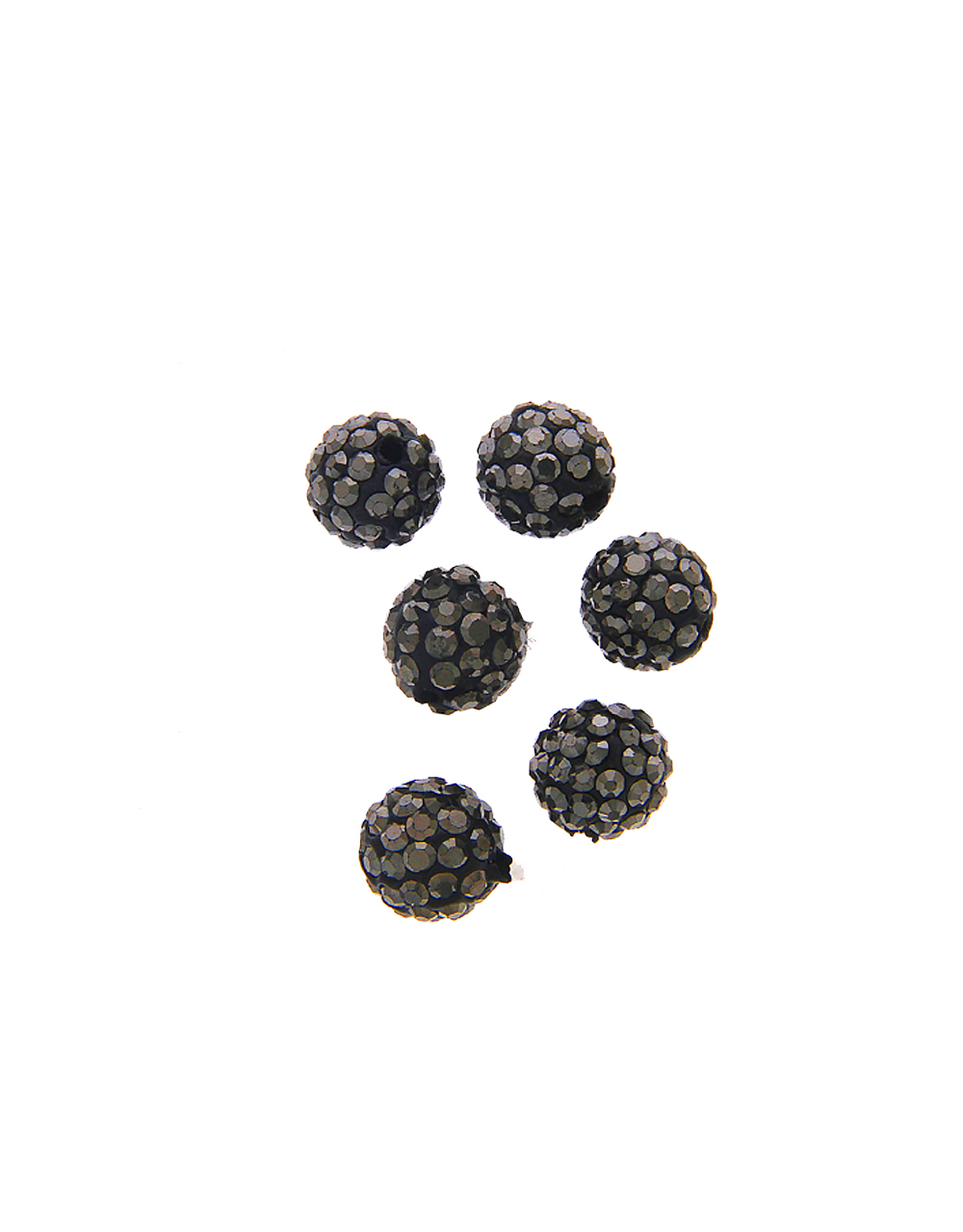 Grey Colour Fancy Beads Material For Jewellery