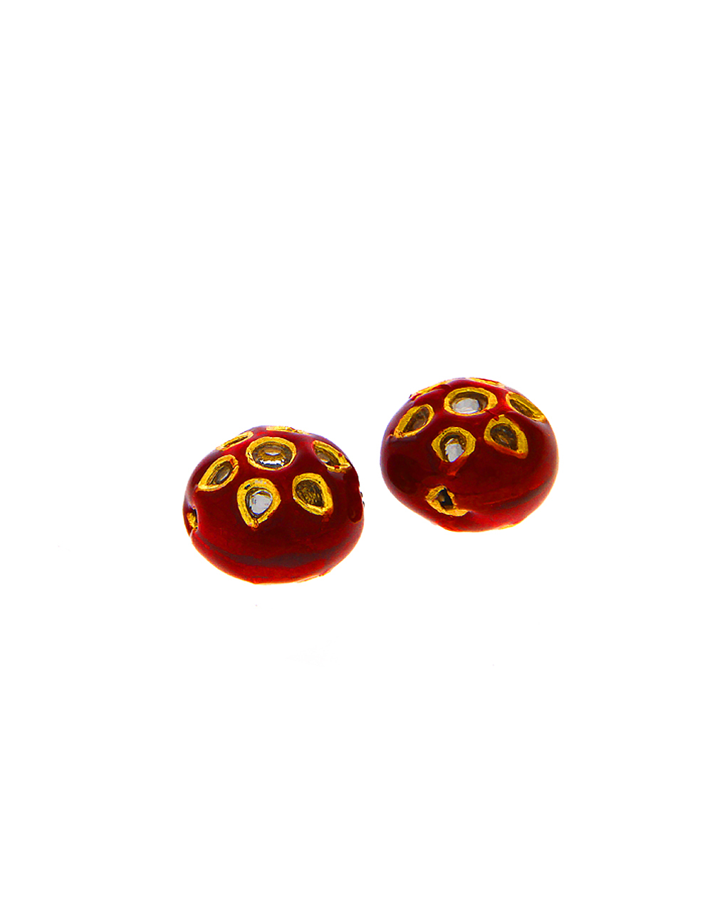Maroon Colour Beads Accessories
