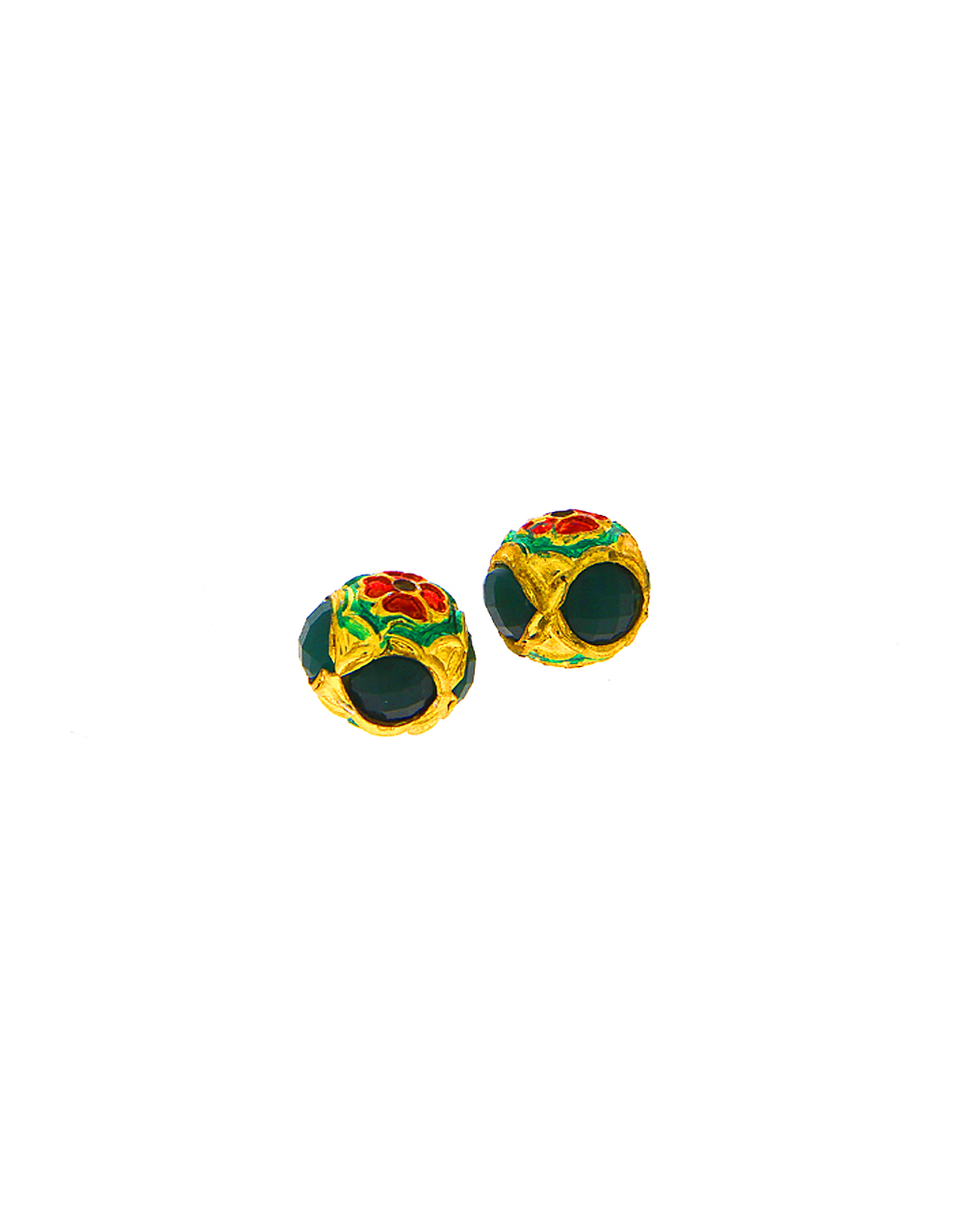 Green Colour Jewellery Making Material