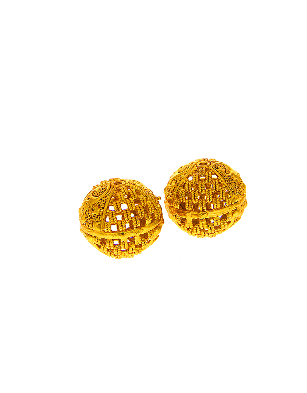 Floral Design Gold Finish Making Jewellery