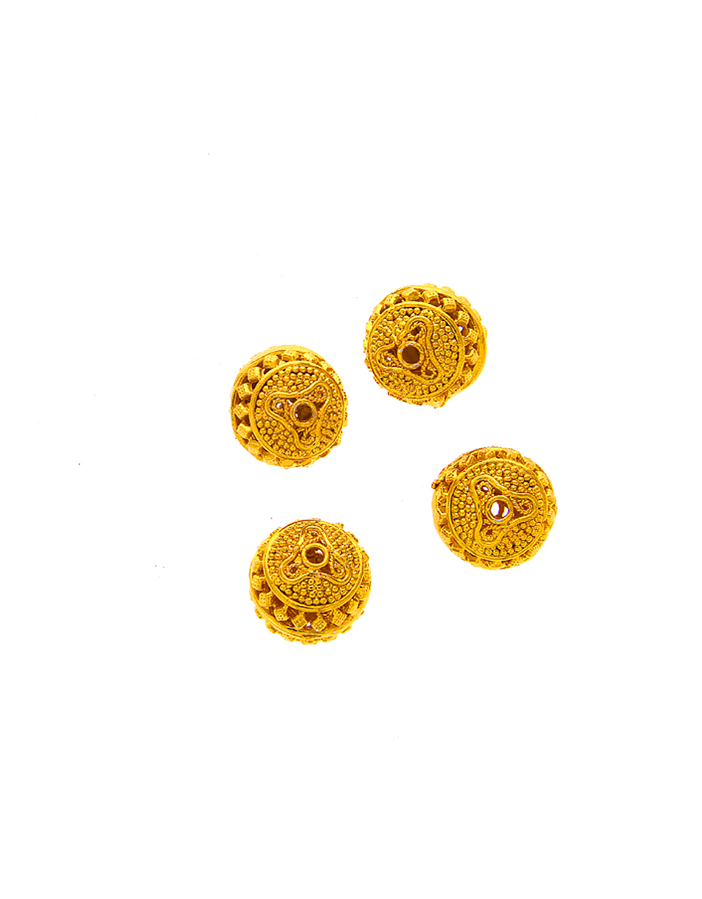 Gold Finish Fancy Jewellery Material
