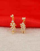 Gold Finish Bugadi Styled With Moti Maharashtrian Bugadi