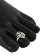 Fancy Oxidized Finish Silver Bichudi