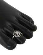 Oxidised Finish Designer Toe Ring Foe Women
