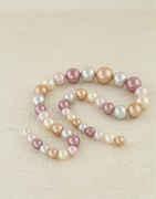 Shaded Multi Colour Beads Mala