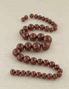 Grey Colour Fancy Beads Mala
