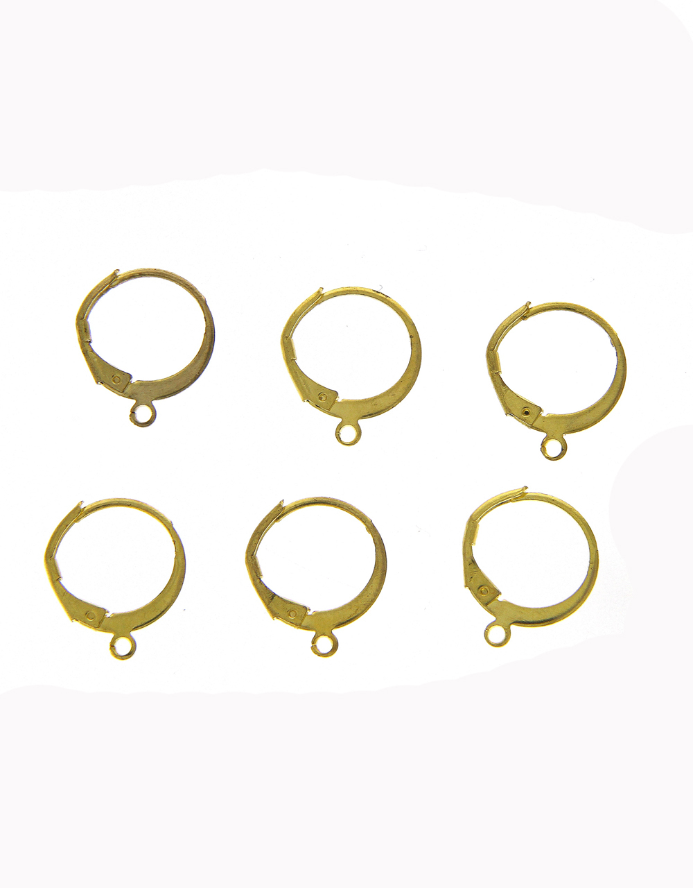 Gold Finish Earring Hook