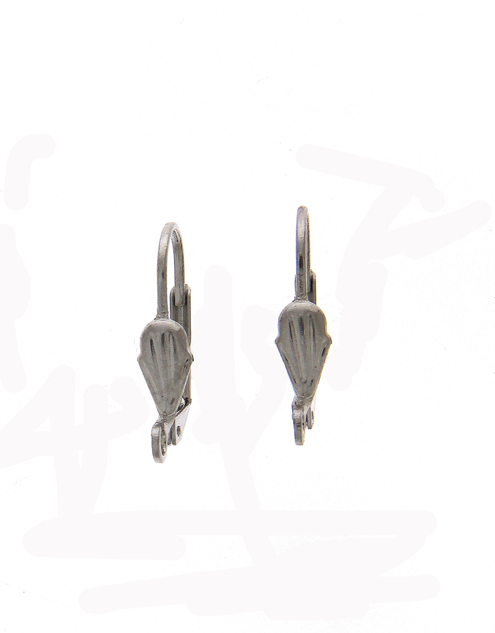 Silver Finish Earring Jewellery Material