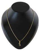 Alphabet Diamond Pendant Jewellery Set
