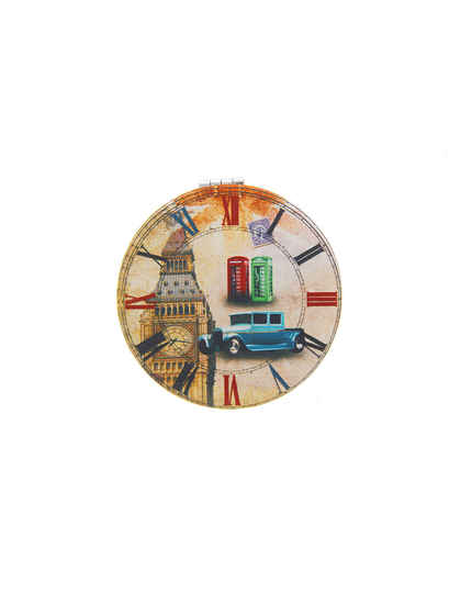 Clock Mirror For Ladies