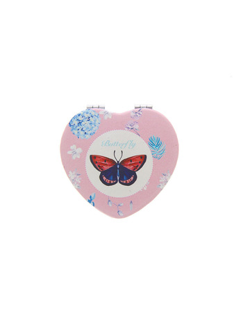 Pink Colour Fancy Mirror For Girls