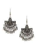 Silver Finish Designer Oxidised Combo Set Jewellery