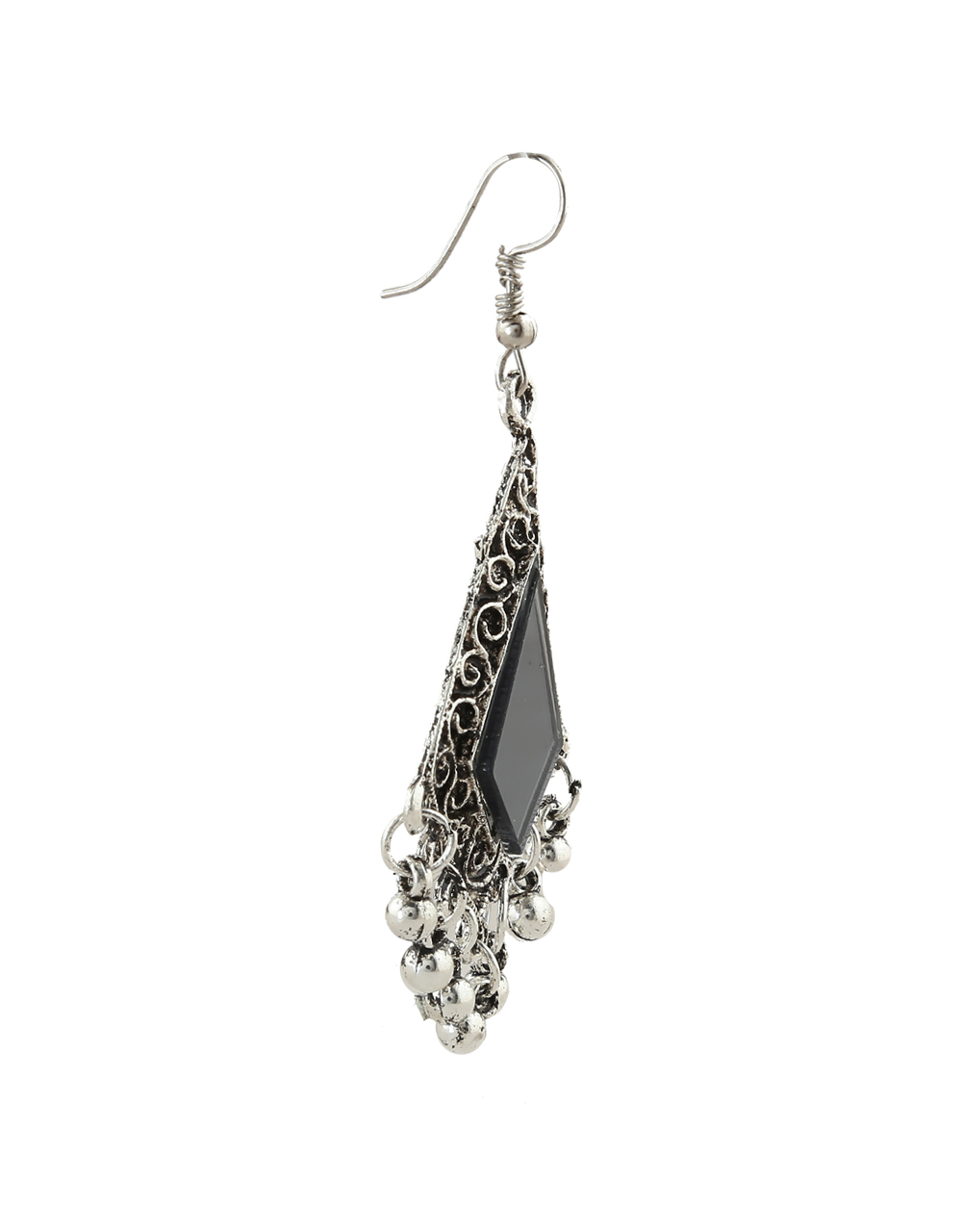 Silver Oxidised Finish Fancy Combo Jewellery