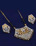 Gold Finish Designer Mangalsutra Jewellery