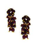 Gold Finish Purple Colour Beads Mangalsutra