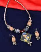 Fancy Multi Colour Navratri Special Necklace