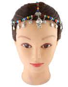 Multi Colour Beads Matha Patti Jewellery