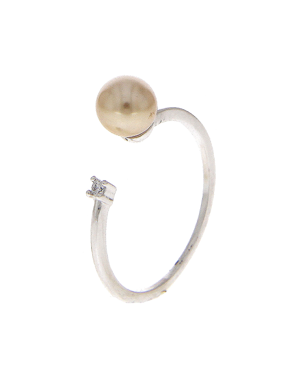 Silver Tone Fashionable Adjustable Finger Ring