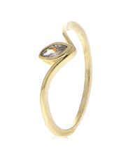 Diamond Studded Designer Finger Ring
